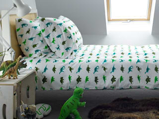 Dinosaur Duvet Set:   by Ginger & May