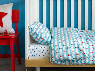 Boats Duvet Cover:   by Ginger & May