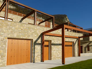 Marlegno Terrace house Wood