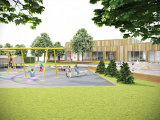 Borusan day care centre: modern  by Haag Architects, Modern