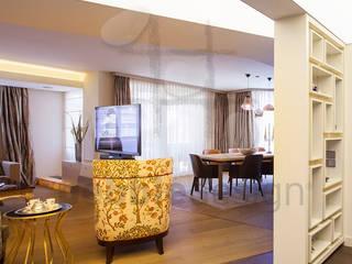 Kalkan Dublex Apartment/Suadiye Pebbledesign / Çakıltașları Mimarlık Tasarım Interior landscaping