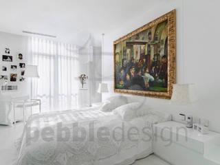 Müezzinoğlu Apartment/Selenium Panaroma Residence Pebbledesign / Çakıltașları Mimarlık Tasarım Modern style bedroom
