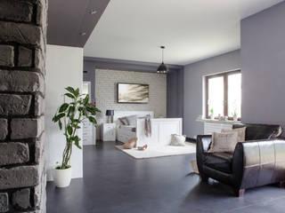 Holzbett aus Massivholz: moderne Schlafzimmer von Massiv aus Holz