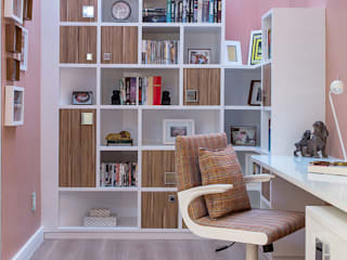 Classic style study/office by Milla Holtz & Bruno Sgrillo Arquitetura Classic