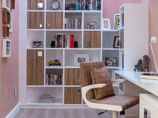 Oficinas y bibliotecas de estilo moderno de Bruno Sgrillo Arquitetura Moderno