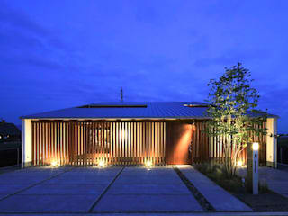 masaki house2: 髙岡建築研究室が手掛けた家です。,和風