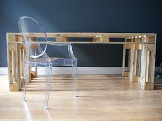 Stół z palet do JADALN: styl , w kategorii  zaprojektowany przez Fabryka Palet
