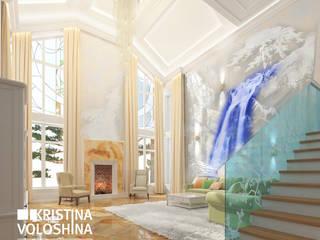 Дом в Королеве Гостиная в средиземноморском стиле от kristinavoloshina Средиземноморский