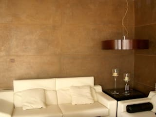 Ambiente moderno de mural x 3