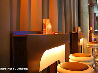 "Innenarchitektur Disco ""Club Pier 1"" - Duisburg: modern  von GID│GOLDMANN-INTERIOR-DESIGN - Innenarchitekt in Sehnde,Modern"