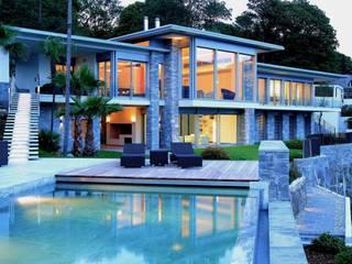 Varandas, alpendres e terraços modernos por Aldo Rampazzi Studio di Architettura Moderno