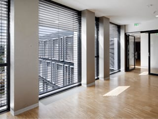 Deutsche Rentenversicherung Nürnberg Moderne Bürogebäude von BAURCONSULT Architekten Ingenieure Modern