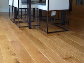 St Albans - Unfinished oak flooring: modern  by Fine Oak Flooring Ltd., Modern