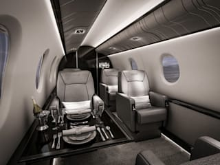Aviation Celia Sawyer Luxury Interiors Jachty i motorówki
