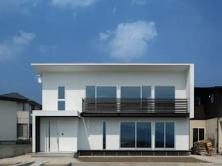 Eclectic style houses by 株式会社 mA建築計画工房 Eclectic