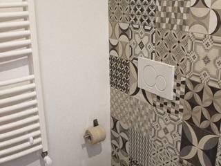 CASA VT Bagno minimalista di Daniele Spirito Architetto Minimalista