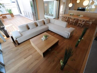 Living room by TERAJIMA ARCHITECTS, Modern