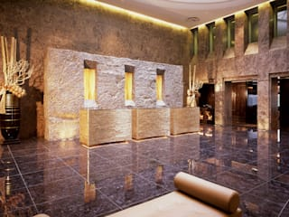 Golden Palace Hotel moderni di Studio Simonetti Moderno