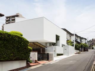 Casas modernas de Kenji Yanagawa Architect and Associates Moderno