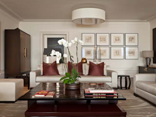 Modern Living Room with the Asian Touch Modern living room by Rosangela Photography Modern