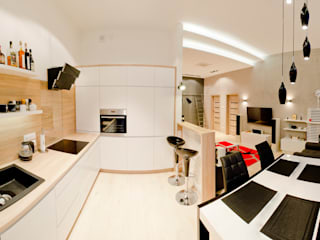 Kitchen by Tektura Studio Katarzyna Denst,
