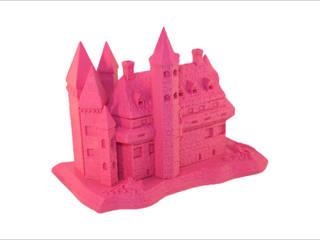 3D-printed castle:   door MyMatics