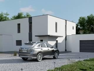 SOLUTION 3D EN ARCHITECTURE: Maisons de style  par DEC-DESIGN