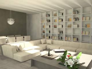 Salas de estar modernas por TIBERIO CERATO Moderno