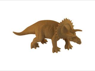 3D-print of a dinosaur:   door MyMatics