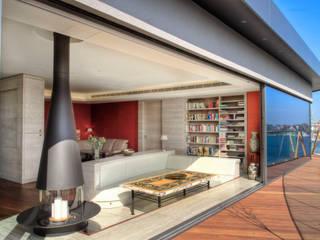 Penthouse im Stadthafen Moderne Häuser von baustudio kastl Modern