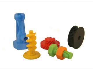 3D-printed various parts:   door MyMatics