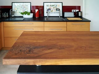 Rustic style kitchen by Lignum Möbelmanufaktur GmbH Rustic