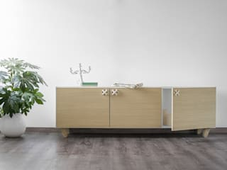Nodo, cabinet furniture for Formabilio Andrea Brugnera Design SalonesAlmacenamiento