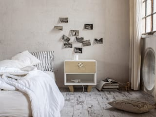 Nodo, cabinet furniture for Formabilio Andrea Brugnera Design BedroomBedside tables