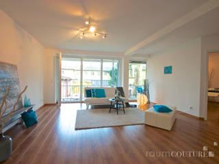 Wohnzimmer nachher:   von raumcouture Einrichtungsberatung & Home Staging