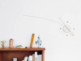 Lithe Clock: minimalist  by Studio Ve, Minimalist