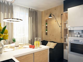 Scandinavian style kitchen by Александра Петропавловская Scandinavian