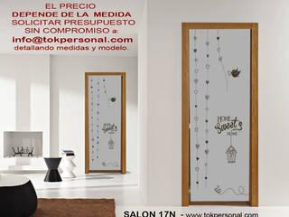 VINILOS DECORATIVOS PARA CRISTALES SALÓN 17N:  de estilo  de vinilos decorativos TOKPERSONAL