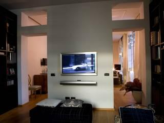 archbcstudio Moderner Multimedia-Raum