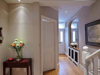Townhouse Interior Design, Putney Bridge, London by Residence Interior Design Ltd Сучасний