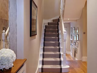 Townhouse Interior Design, Putney Bridge, London:  Houses by Residence Interior Design Ltd