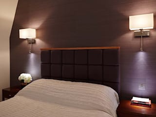 Master Suite Design, Parson's Green, London Residence Interior Design Ltd Rumah Modern