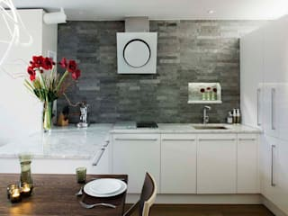 Parliament View Interior Design, Lambeth Bridge, London Residence Interior Design Ltd Casas de estilo moderno