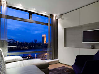 Parliament View Interior Design, Lambeth Bridge, London 모던스타일 주택 by Residence Interior Design Ltd 모던