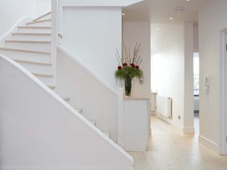Parliament Hill Interior Design, Hampstead, London Residence Interior Design Ltd 斯堪的納維亞風格的走廊,走廊和樓梯