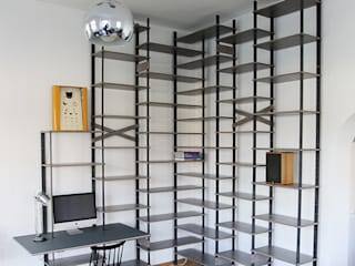 Tuba Design Living roomShelves