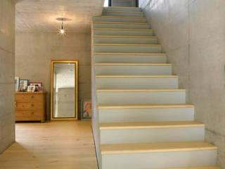 Marty Häuser AG Ingresso, Corridoio & Scale in stile moderno
