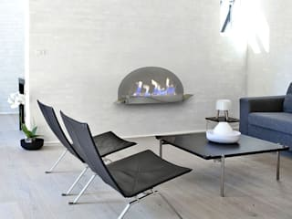 Shio Concept 客廳壁爐與配件