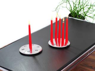 moon  - minimalistischer kerzen kronleuchter:   von XXD GmbH