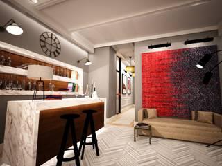 BAILO ISTANBUL Eclectic style hotels by Esra Kazmirci Mimarlik Eclectic
